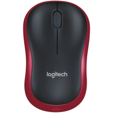 Logitech  M185, Black/red