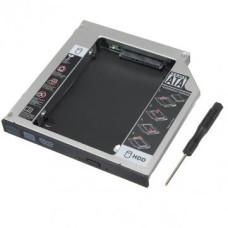 Grand-X  Кишеня HDC-25N для 2.5` SATA HDD 12.7
