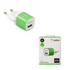 Belkin  220V-USB, 1-port, 5W, 5-5.5V 1A, кабель 1m