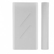 Силіконовий чохол Xiaomi Mi Power Bank 2C 20000 mAh White (SPCCXM20W)