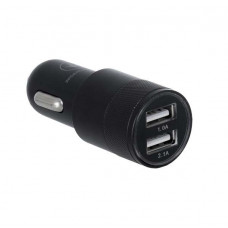 ERGO ECC-221 2.1A 2xUSB Car Charger (Black)