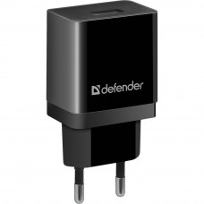 DEFENDER (83572) EPA-10 чорний, 1xUSB, 5V / 2.1А