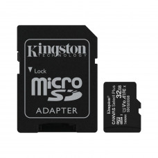 Kingston (32гб) Canvas Select Plus microSDHC A1 UHS-I U1