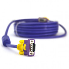 (1.5м) VGA 3+4 папа-папа purple