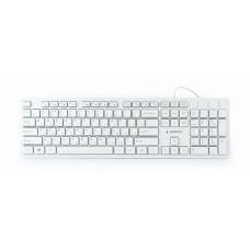 Gembird  KB-MCH-03-W-UA White USB UKR